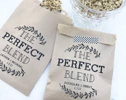 tea bag wedding favors personalized tea bag etsy