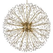 Crystal Sphere Chandelier Capiz Crystal Sphere Chandelier Shades Of Light