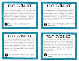 upper elementary snapshots citing text evidence in 6 steps