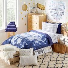 erin andrews navy tie dye best bedding collection twin xl