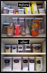 Ideas To Organize Kitchen Cabinets Best 25 Deep Pantry Organization Ideas On Pinterest Pantry And