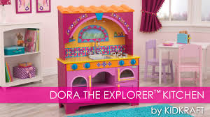 dora the explorer children u0027s play kitchen toy review youtube