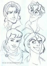 disney prince sketches disney art pinterest disney princes