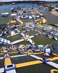 2017 china backyard inflatable water park for summer buy