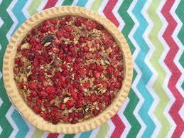 cranberry walnut pie a holiday season warm recipe treat frugal cranberry walnut pie