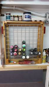 Paint Pallet by Craft Paint Pallet Rack Or Pallet Caddy U2022 1001 Pallets