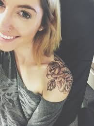 tattoos on chest for girls rose shoulder tattoo ink pinterest shoulder tattoo tattoo