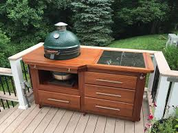 Green Egg Table by Bge Cabinet Completed U0026 Checked Out U2014 Big Green Egg Egghead