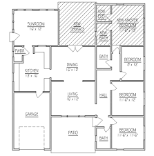 addition floor plans home addition floor plans ideas design solution for rear addition