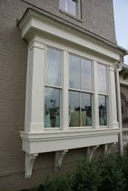 creative window exterior design on luxury home interior designing