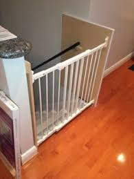 Baby Gate For Banister Stairs How To Install A Stair Safety Gate Without Ruining Your Banister