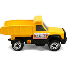 truck funrise toy tonka classic steel quarry dump truck walmart com