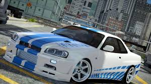 paul walkers nissan skyline drawing the mighty veyron is challenged by a nissan skyline