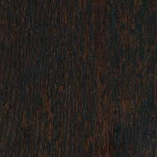hardwood flooring click lock home legend wire brushed oak coffee 3 8 in thick x 5 in wide x