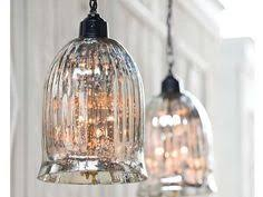 Glass Pendant Lights For Kitchen Island Mercury Glass 1 Light Pendant Mercury Glass Glass Pendants And