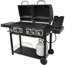 black friday gas grill dual fuel combination charcoal gas grill walmart com