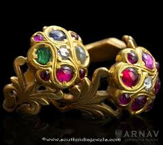 antique gold rings images Antique gold rings from arnav south india jewels jpg