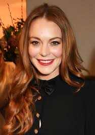 11 years old that has highlights at the bottom of their hair female celebrity hairstyles lindsay lohan long hair brown with