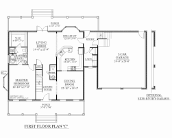 floor plans for 1 story homes floor plan of a 2 story house awesome 1 1 2 story homes floor