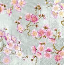 amazon com entertaining with caspari plum blossom paper cocktail