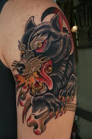 wolf creature image tattoomagz