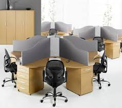 Desks Office by Circular Call Centre Desks Genesys Office Furniture