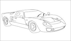 sketches for sketch of ford gt40 www sketchesxo com