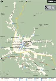 Italy City Map by Pistoia Map Google Map Of Pistoia City Italy