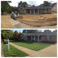 sod u0026 landscaping u2013 before and after in ballwin mo lance u0027s