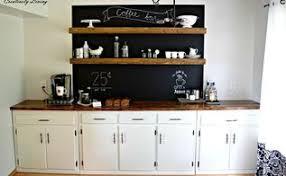 Bar Kitchen Design - coffee bar inspired by ana white hometalk