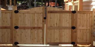 simple design wood fence door good looking plans to build wooden