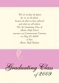 for graduation invitations in