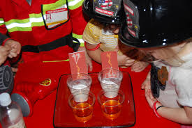 community helpers theme for preschool bubbly fires science