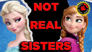 film elsa anak film theory disney s frozen anna and elsa are not sisters youtube
