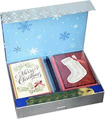 burgoyne christmas cards burgoyne 30 assorted crafted christmas cards