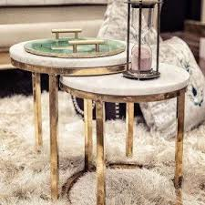 marble top nesting tables tables marble top nesting table set of 2 wooden it be nice