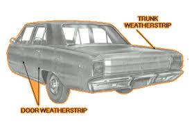 1967 dodge dart 4 door parts weatherstripping dodge 1960 andy bernbaum auto parts