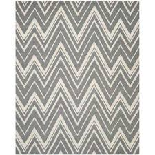 Black And White Rugs Chevron Area Rugs Rugs The Home Depot