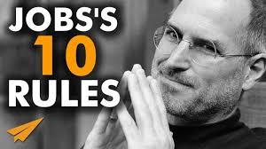 Steve Jobs Resume Pdf by Steve Jobs U0027s Top 10 Rules For Success