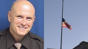 Flags At Half Mast Michigan Flags Lowered For Michigan Deputy Killed During Chase
