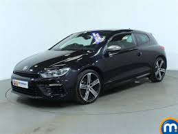 volkswagen scirocco r 2016 used volkswagen scirocco r black cars for sale motors co uk