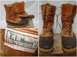 ll bean duck boots womens size 9 vintage retro s l l bean maine shoe bean boots