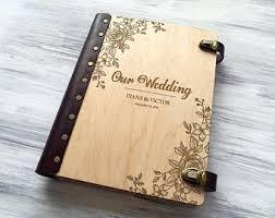 personalized wedding photo albums wedding photo album etsy