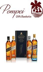 scotch gift basket johnnie walker collection gift set from pompei baskets
