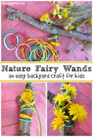 backyard nature fairy wand craft where imagination grows