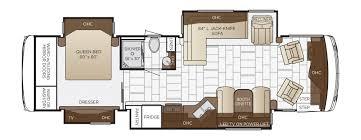 rv camper floor plans ventana floor plan options newmar