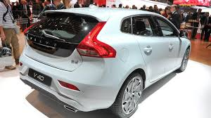 volvo official all new 2013 volvo v40 up close in geneva