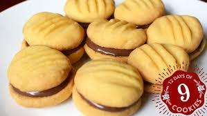 hazelnut cookie sandwiches recipe from bostonchefs com