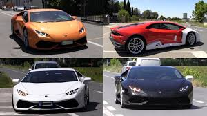 replica lamborghini lamborghini huracan spotting in italy pick your color car tuning