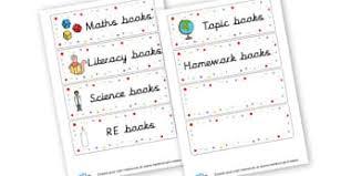 printable book labels ks2 book labels primary resources pupil folder labels